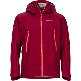 Marmot Red Star Jacket Herre sienna red